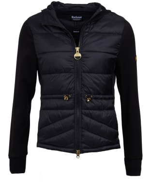 Women's Barbour International Ventax Sweater Jacket - Black