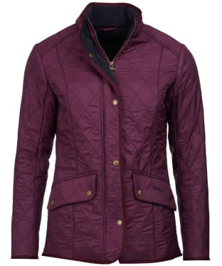 Women's Barbour Cavalry Polarquilt Jacket - Juniper