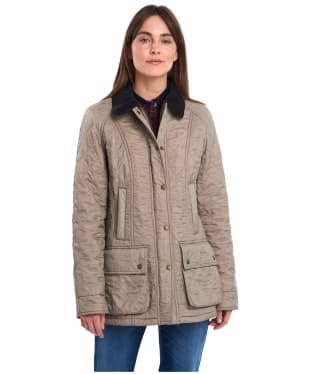 Women's Barbour Beadnell Polarquilt - Taupe