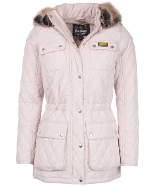 Women's Barbour International Enduro Quilt - Oyster