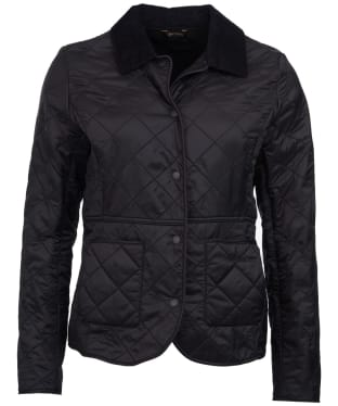 Women's Barbour Deveron Polarquilt Jacket - Black