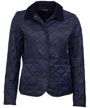 Women's Barbour Deveron Polarquilt Jacket - Navy