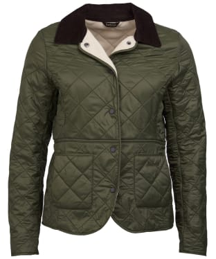 Women's Barbour Deveron Polarquilt Jacket - Olive