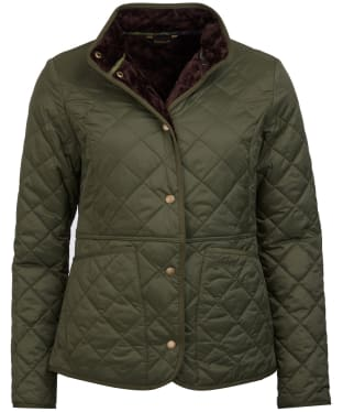 Women's Barbour Jasmine Quilted Jacket - Olive