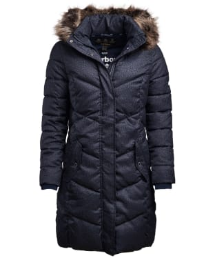 Women's Barbour Sternway Quilted Jacket - Navy Marl