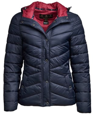 Women's Barbour Hawse Quilted Jacket - Navy