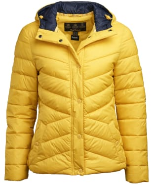 Women's Barbour Hawse Quilted Jacket - Sulphur Yellow