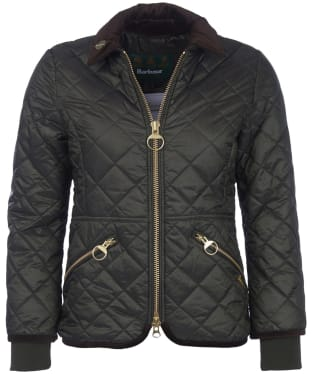 Women's Barbour Icons Liddesdale Quilted Jacket - Sage
