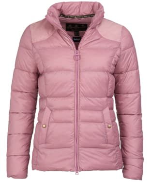 Women's Barbour Brecon Quilted Jacket - Rose Bay
