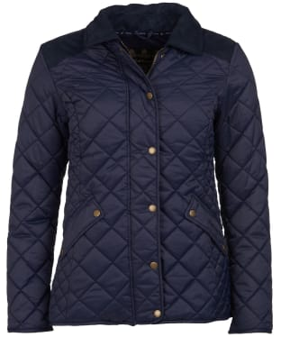 Women's Barbour Exmoor Quilted Jacket - Navy