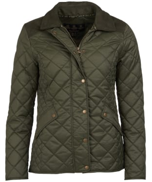 Women's Barbour Exmoor Quilted Jacket - Olive
