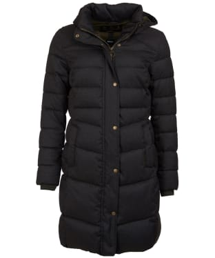 Women's Barbour Lonnen Quilted Jacket - Olive Herringbone