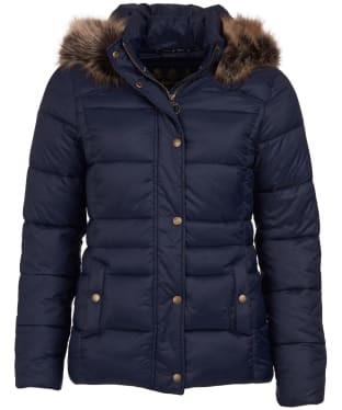 Women's Barbour Ullswater Quilted Jacket - Navy
