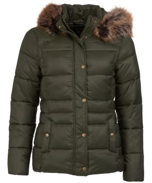 Women's Barbour Ullswater Quilted Jacket - Olive
