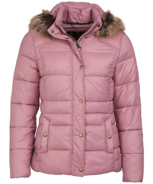 Women's Barbour Ullswater Quilted Jacket - Rose Bay