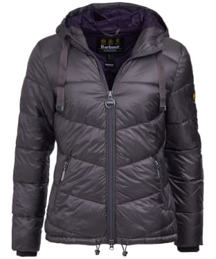 Women's Barbour International Brace Quilted Jacket - Tempest