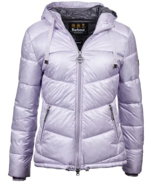Women's Barbour International Brace Quilted Jacket - Haze