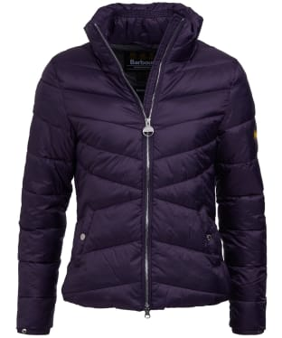 Women's Barbour International Dual Quilted Jacket - Tempest
