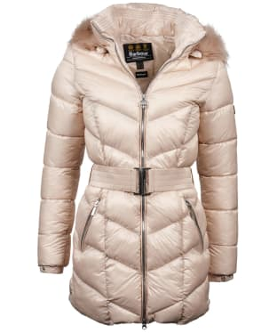 Women's Barbour International Highpoint Quilted Jacket - Oyster