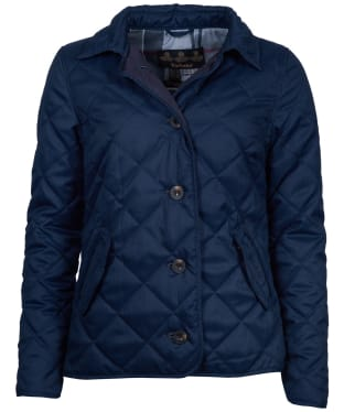 Women's Barbour Skye Quilted Jacket - Navy