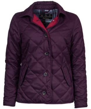 Women's Barbour Skye Quilted Jacket - Juniper
