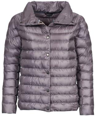 Women's Barbour Aerielle Quilted Jacket - Zinc