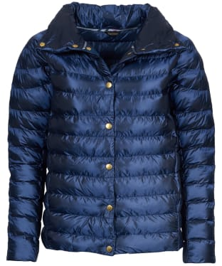 Women's Barbour Aerielle Quilted Jacket - Royal Navy