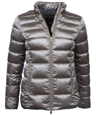 Women's Barbour Lawers Quilted Jacket - Mink