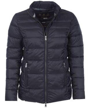 Women's Barbour Lawers Quilted Jacket - Black
