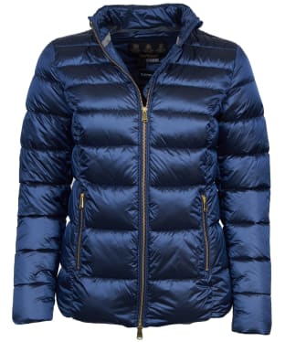 Women's Barbour Lawers Quilted Jacket - Royal Navy