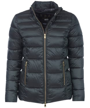 Women's Barbour Lawers Quilted Jacket - Thyme