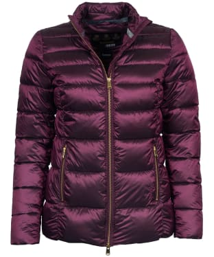 Women's Barbour Lawers Quilted Jacket - Juniper