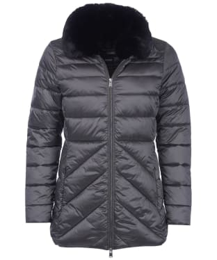 Women's Barbour Shannon Quilted Jacket - Ash Grey