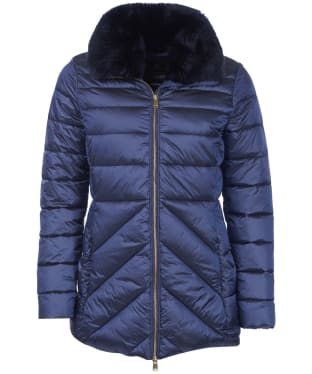 Women's Barbour Shannon Quilted Jacket - Royal Navy