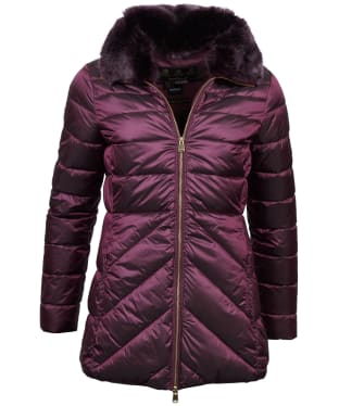 Women's Barbour Shannon Quilted Jacket - Juniper