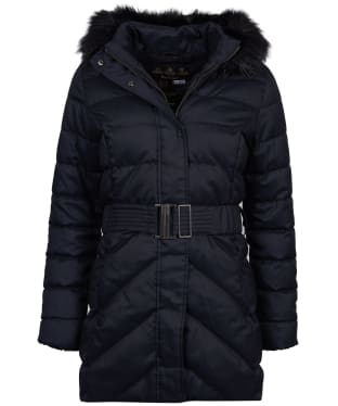 Women's Barbour Waylite Quilted Jacket - Black