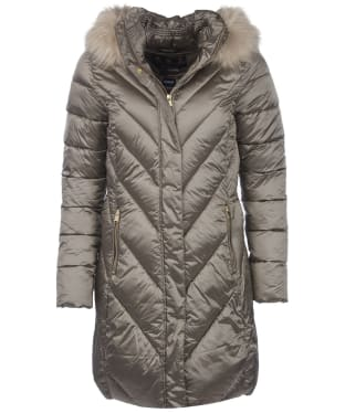 Women's Barbour Reesdale Quilted Jacket - Mink