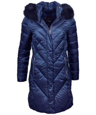 Women's Barbour Reesdale Quilted Jacket - Royal Navy