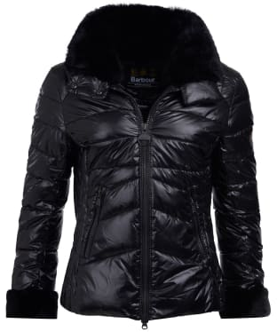 Women's Barbour International Hyde Quilted Jacket