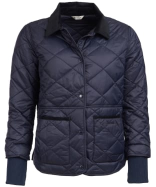 Women's Barbour Silchester Quilted Jacket - Navy