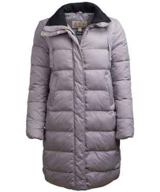 Women's Barbour Weatheram Quilted Jacket - Chrome
