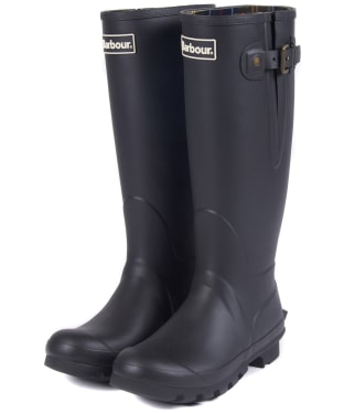 Women's Barbour Amble Neoprene Wellingtons - Black