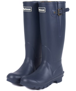 Women's Barbour Amble Neoprene Wellingtons - Navy