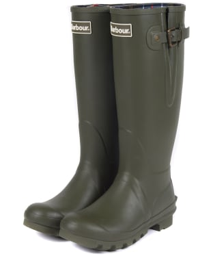Women's Barbour Amble Neoprene Wellingtons - Olive