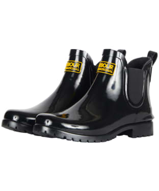 Women's Barbour International Assen Chelsea Wellington Boots - Black