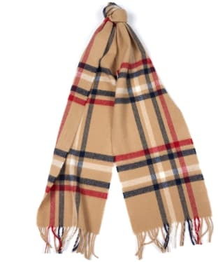 Women's Barbour Moorland Check Scarf