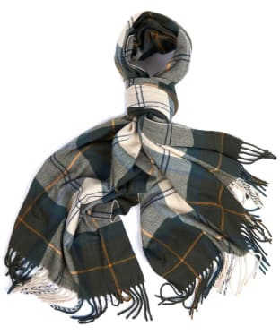 Women's Barbour Modern Country Tartan Scarf - Ancient Tartan