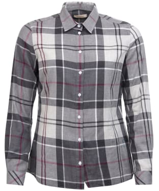 Women's Barbour Bredon Shirt - Juniper Winter Tartan