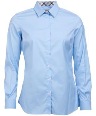 Women's Barbour Hamlet Shirt - Pale Blue