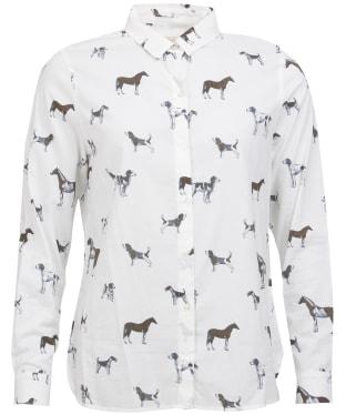 Women's Barbour Stirling Shirt - Cloud Dog Print